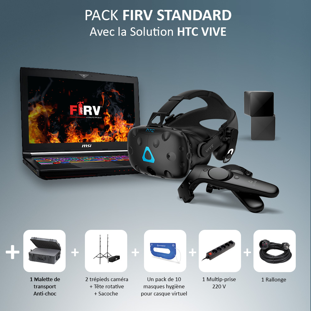 PACK FIRV STANDARD – HTC VIVE
